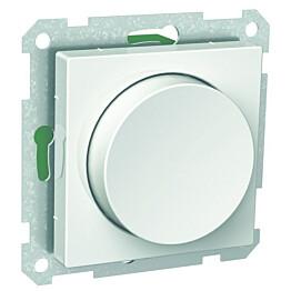 Valkoinen valonsäädin/kytkin 6/100W IP20 UK erikoiskuormille Exxact 2622204