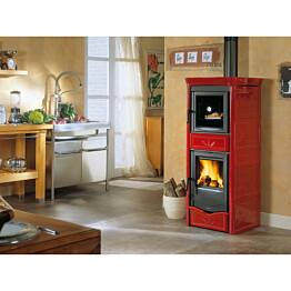 Valmistakka Nicoletta Forno, 8kW, 242kg, paistouunilla, punainen tai kahvi