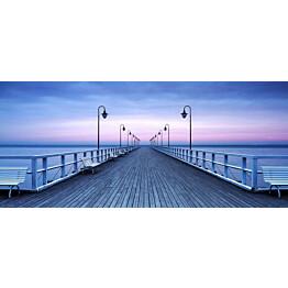 Valokuvatapetti Idealdecor Pier at the Seaside 8-osaa 00969 366x254 cm non-woven
