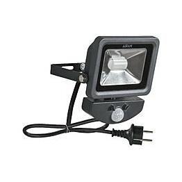 Valonheitin Airam - LED FLOODY PIR IP44 10W/830 AN