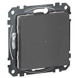 Valonsäädin/LED-painikesäädin Schneider Electric Wiser Exxact 200W RCL UKR antrasiitti