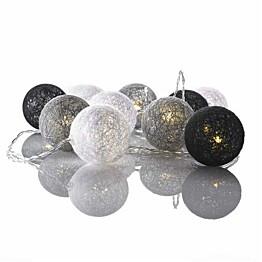 Valopallot Markslöjd Twix 10 valoa harmaa/valkoinen/musta