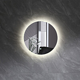 Valopeili Bathlife Skina, Ø500mm, hipaisukytkimellä
