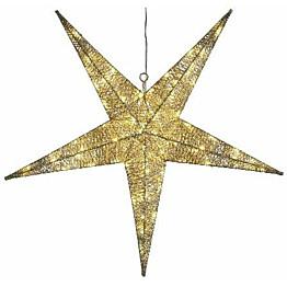 Valotähti Star Trading Sequini LED Ø 75 cm kulta