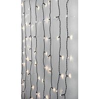 Valoverho Star Trading Serie LED Crispy Ice White 80 valoa 1,3x2m