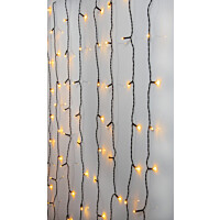 Valoverho Star Trading Serie LED Golden Warm White 80 valoa 1,3x1,3m