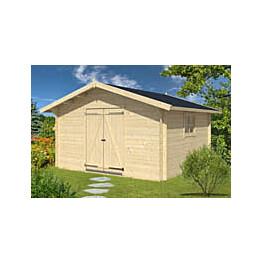 Varasto Polhus Gina 14,8 m² 3870x2762x3870 mm seinävahvuus 28 mm