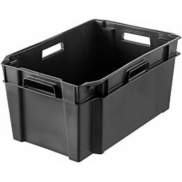Varastolaatikko SmartStore Basic 50 l musta lisäkuva