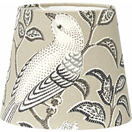 Varjostin PR Home Mia Birdsong Ø 175/130 x 145 mm beige
