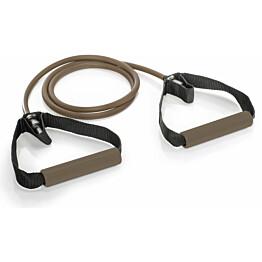 Vastuskuminauha Gymstick Pro Exercise Tube 140 cm Extra Strong ruskea