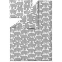 Vauvan pussilakanasetti Finlayson Elefantti 85x125 cm harmaa