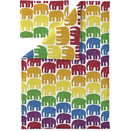 Vauvan pussilakanasetti Finlayson Elefantti 85x125 cm multi
