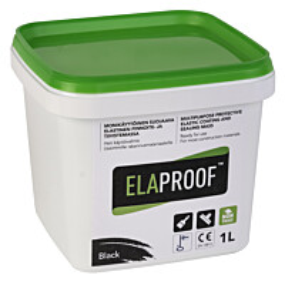 Vedeneristysmassa ElaProof H 1l musta