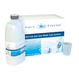 Vedenhoitosarja AquaFinesse, klooritableteilla