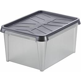 Vedenkestävä säilytyslaatikko SmartStore Dry 15 antrasiitti
