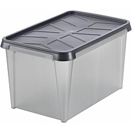 Vedenkestävä säilytyslaatikko SmartStore Dry 45 antrasiitti