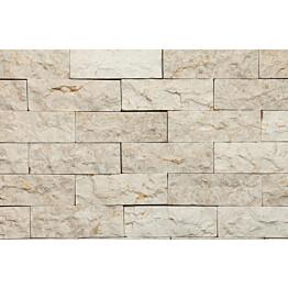 Verhoilukivi Qualitystone White verkolla 50 x 150 mm