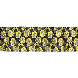 Verhokappa Finlayson Annukka 50x250 cm siniharmaa/keltainen