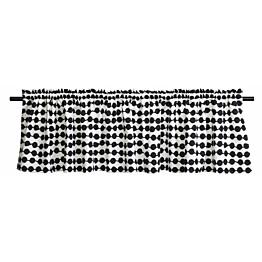 Verhokappa Finlayson Pampula 50x250 cm musta/valkoinen