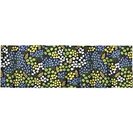Verhokappa Finlayson Armas 50x250 cm musta/keltainen/vihreä