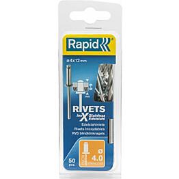 Vetoniitti Rapid 4.0x12mm RST 50kpl
