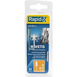 Vetoniitti Rapid 4.0x18mm H.Perf 50kpl