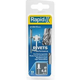 Vetoniitti Rapid 4.8x10mm H.Perf 50kpl