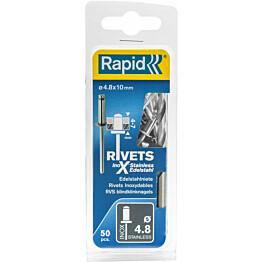 Vetoniitti Rapid 4.8x10mm RST 50kpl