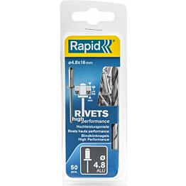 Vetoniitti Rapid 4.8x16mm H.Perf 50kpl