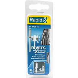 Vetoniitti Rapid 4.8x25mm RST 50kpl