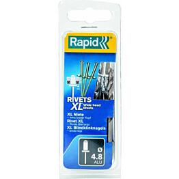 Vetoniitti Rapid xL 4.8x12mm 40kpl