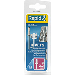 Vetoniitti Rapid 3.2X8 mm 50 kpl