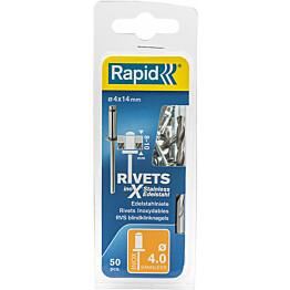 Vetoniitti Rapid 4.0X14 mm RST 50 kpl