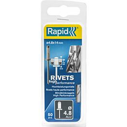 Vetoniitti Rapid 4.8X14 mm 50 kpl