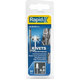 Vetoniitti Rapid 4.8X20 mm 50 kpl