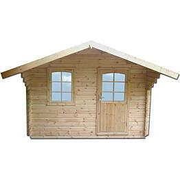 Vierasmökki Robin 3050x3350x2813 mm 9,9 m² 70 mm