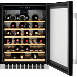 Viinikaappi AEG SWB66001DG 138l 52 pulloa musta
