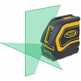 Viivalaser Spectra Precision LT20G vihreillä tehosäteillä