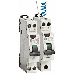 Vikavirtajohdonsuojakatkaisija GE Redline 1P C16/030 DMCEA60 yhdistelmä 30mA