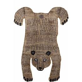 Villamatto Mum's Baby Bear 90x120 cm ruskea