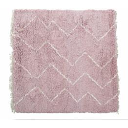 Villamatto Mum's Vadelma, 120x120cm, roosa