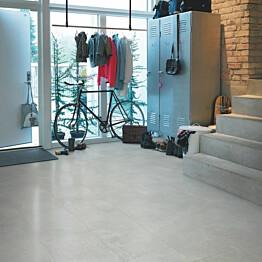 Vinyyli Pergo Tile Optimum Rigid Click, Grey Soft Concrete, 610x303x5mm