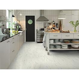 Vinyyli Pergo Tile Premium Click 4V Italian Marble 1300x320x4,5 mm valkoinen