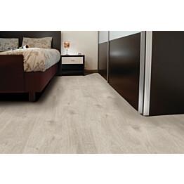 Vinyylikorkki Corkart CW735 Long Plank matta vaaleanharmaa moderni lankku syvämartioitu 1,512 m²/pak lisäkuva