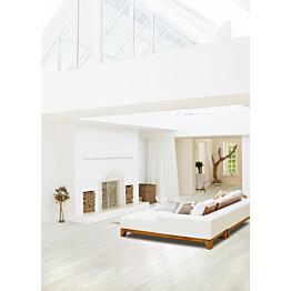 Vinyylikorkkilattia Wicanders Wood Go White Oak 10,5x185x1220 mm