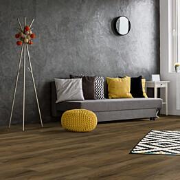 Vinyylilankku Concept Floor Profiline Oak Meramec integroitu alusmateriaali