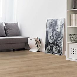 Vinyylilankku Concept Floor Profiline Oak Uster integroitu alusmateriaali