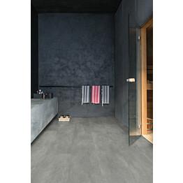Vinyylilattia Quick Step Livyn Ambient 40051 betoni tummanharmaa