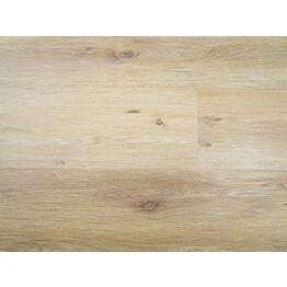 Vinyylilattia Triofloor Hydro Fix Tammi Mustair 5,5x230x1235 mm