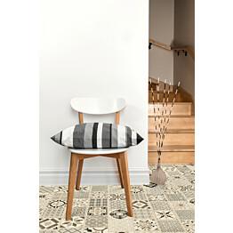 Vinyylilattia Tarkett Starfloor Click 30 Retro - Black White Laatta musta-valkoinen 1.675 m²/pak